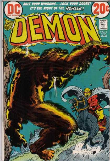 Demon 6 - Denis Rodier, Jack Kirby