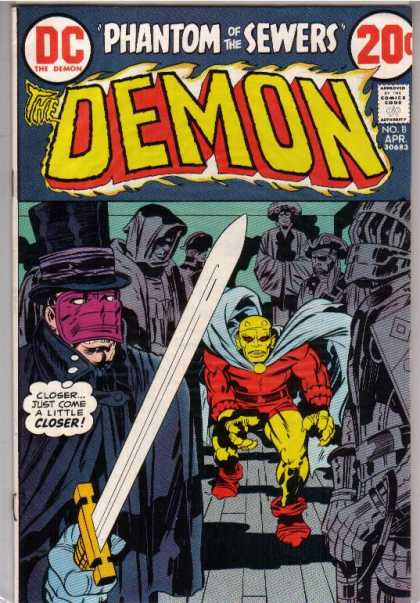 Demon 8 - Denis Rodier, Jack Kirby