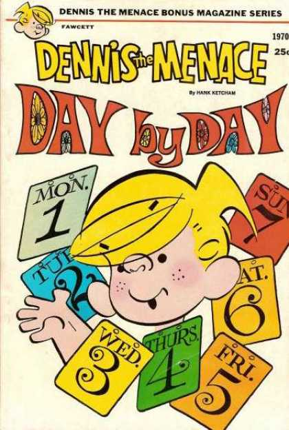 Dennis the Menace Bonus Magazine 80 - Naughty Boy - Everyday Comic Strip - Mrwilson - Joey - Mrs Wilson