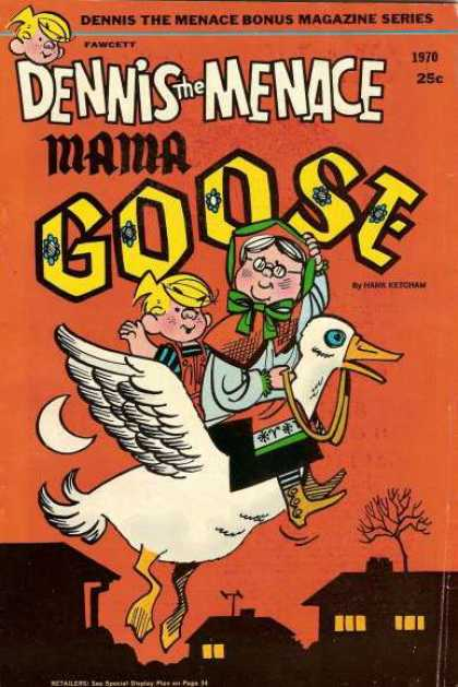 Dennis the Menace Bonus Magazine 83 - 25c - 1970 - Fawcett - Dennis The Menace Mama Goose