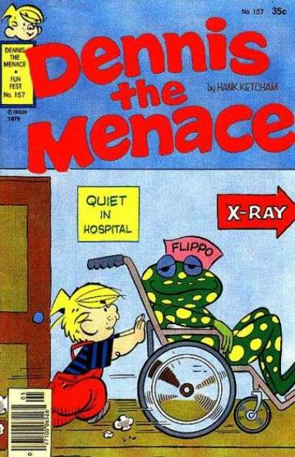 Dennis the Menace 157 - Hospital - Flippo The Frog - Doctor - Sick - Medicine