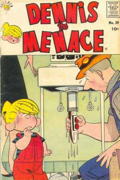 Dennis the Menace 39 - Comics Code - Boy - Man - No39 - Machine