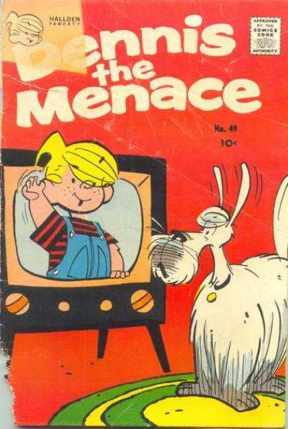 Dennis the Menace 49 - Dennis The Menace - Television - Dog - Rug - Dogs Ear Wiggling