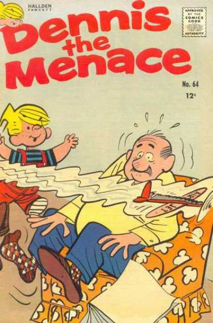 Dennis the Menace 64 - Mrwilson - Blonde Hair - Overalls - Dennis - Jet
