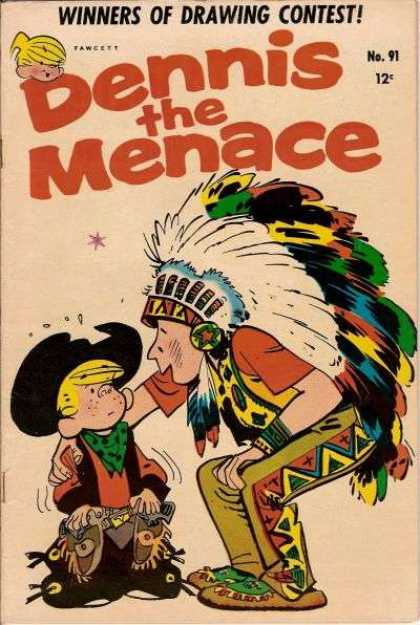 Dennis the Menace 91 - Menace - Willson - Contest - No 91 - Cowboy