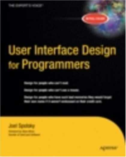 Design Books - User Interface Design for Programmers