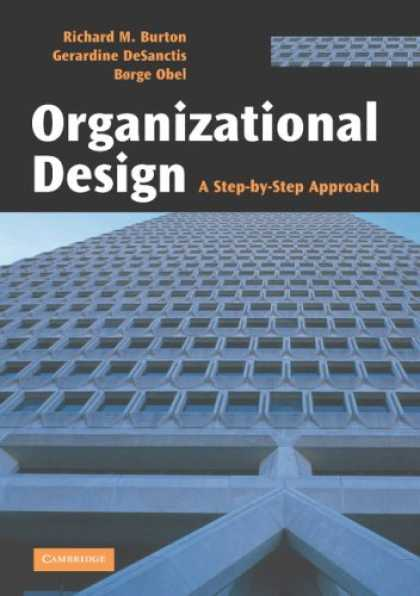 Design Books - Organizational Design: A Step-by-Step Approach