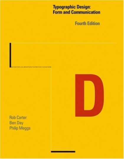 Design Books - Typographic Design: Form and Communication