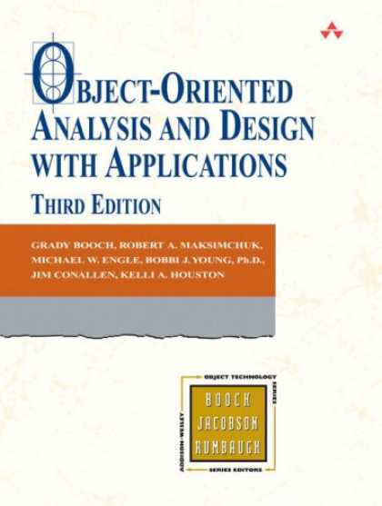 Design Books - Object-Oriented Analysis and Design with Applications (3rd Edition) (Addison-Wes