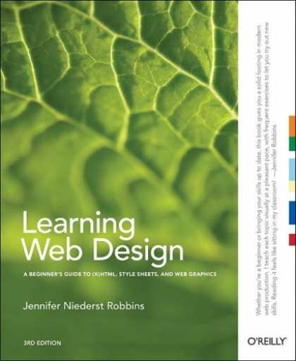 Design Books - Learning Web Design: A Beginner's Guide to (X)HTML, StyleSheets, and Web Graphic