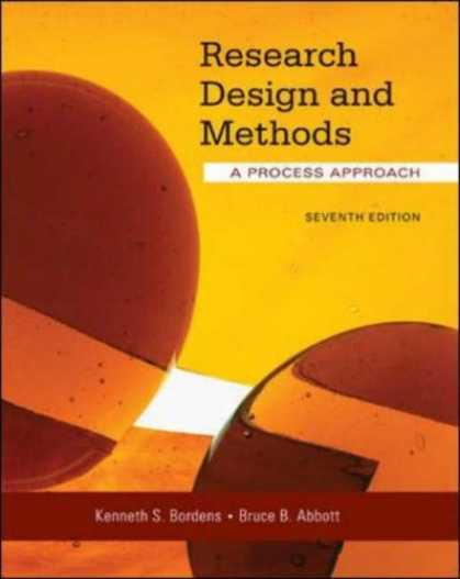 Design Books - Research Design and Methods: A Process Approach