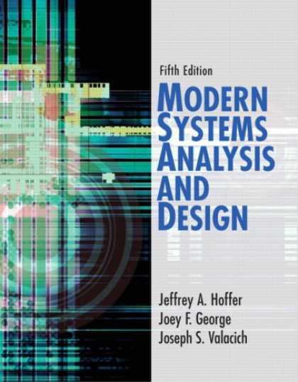 Design Books - Modern Systems Analysis and Design (5th Edition)