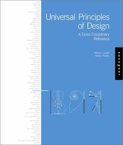 Design Books - Universal Principles of Design