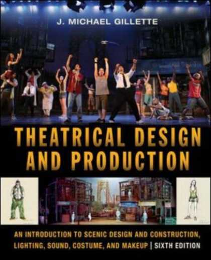 Design Books - Theatrical Design and Production: An Introduction to Scene Design and Constructi
