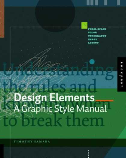 Design Books - Design Elements: A Graphic Style Manual