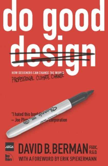 Design Books - Do Good Design: How Designers Can Change the World
