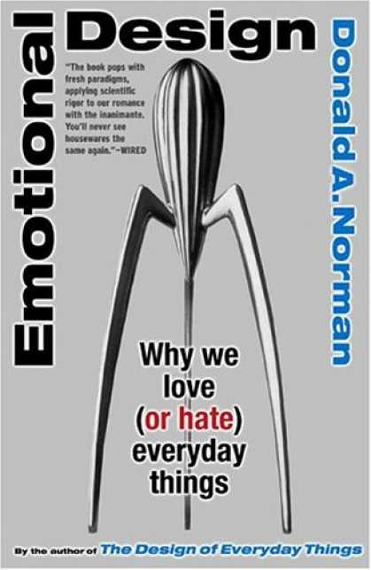 Design Books - Emotional Design: Why We Love (or Hate) Everyday Things