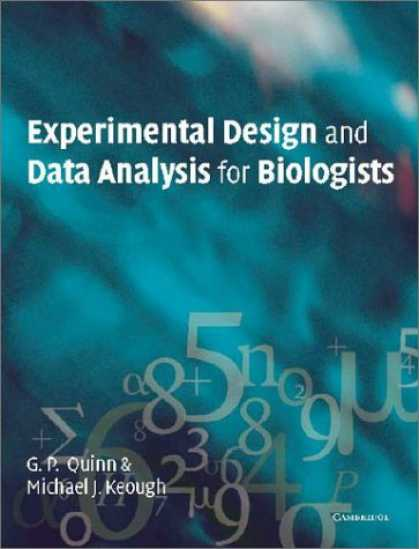 Design Books - Experimental Design and Data Analysis for Biologists