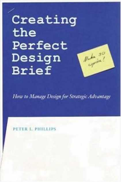 Design Books - Creating the Perfect Design Brief: How to Manage Design for Strategic Advantage