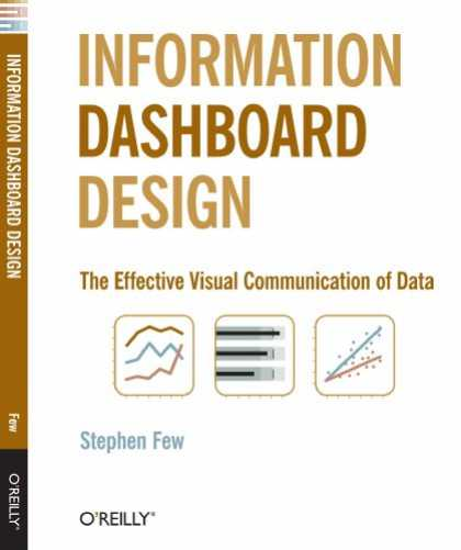 Design Books - Information Dashboard Design: The Effective Visual Communication of Data