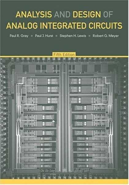 Design Books - Analysis and Design of Analog Integrated Circuits