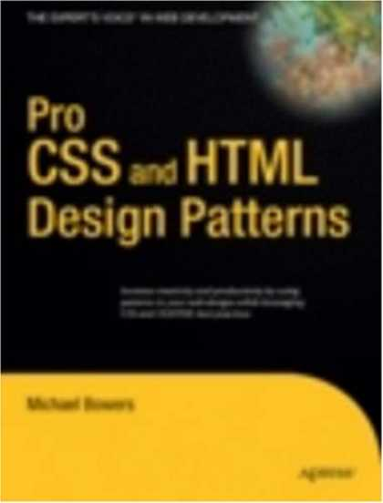 Design Books - Pro CSS and HTML Design Patterns