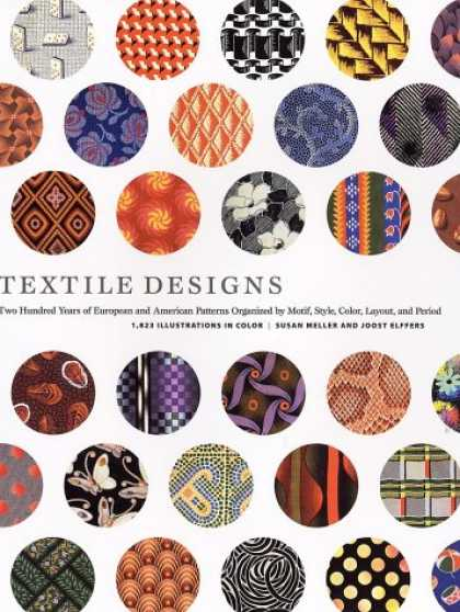 Design Books - Textile Designs: Two Hundred Years of European and American Patterns Organized b