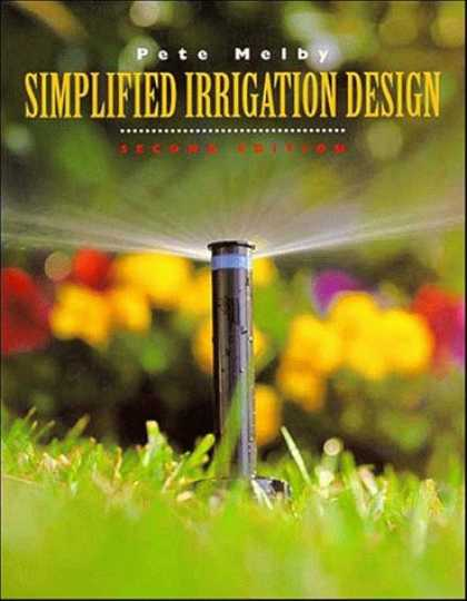 Design Books - Simplified Irrigation Design, 2nd Edition (Landscape Architecture)