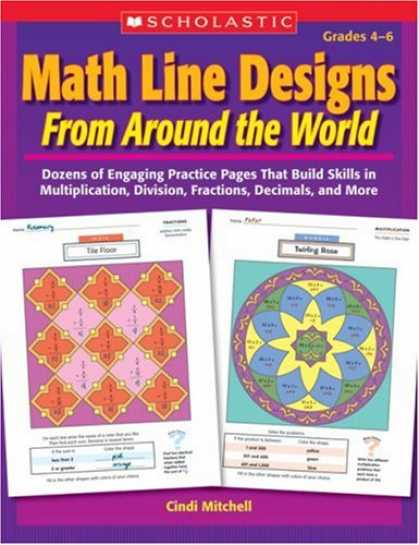 Design Books - Math Line Designs From Around the World: Grades 4-6: Dozens of Engaging Practice