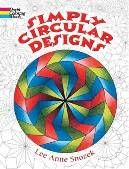 Design Books - Simply Circular Designs Coloring Book (Dover Coloring Book)