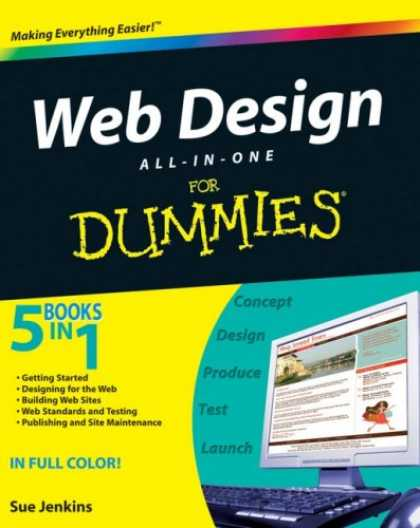 Design Books - Web Design All-in-One For Dummies (For Dummies (Computers))