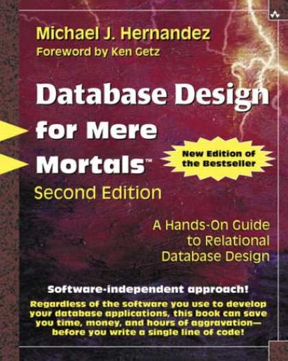 Design Books - Database Design for Mere Mortals(R): A Hands-On Guide to Relational Database Des