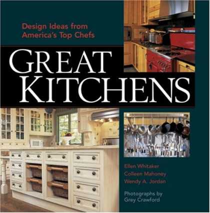 Design Books - Great Kitchens: Design Ideas from America's Top Chefs