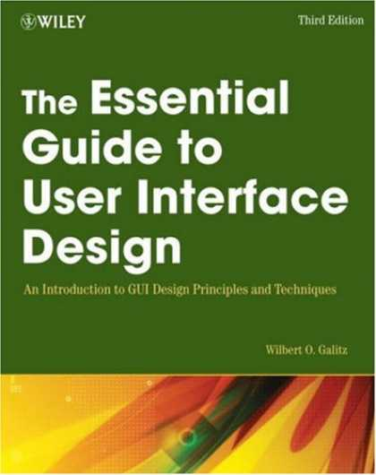 Design Books - The Essential Guide to User Interface Design: An Introduction to GUI Design Prin
