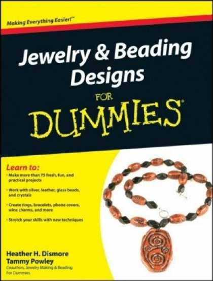 Design Books - Jewelry & Beading Designs For Dummies (For Dummies (Sports & Hobbies))