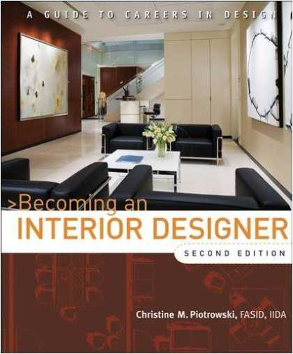 Design Books - Becoming an Interior Designer: A Guide to Careers in Design