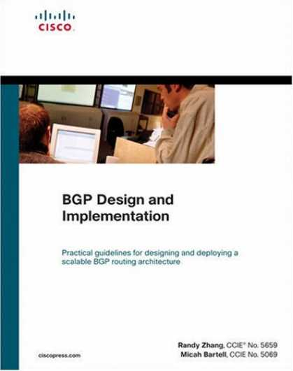 Design Books - BGP Design and Implementation (Networking Technology)