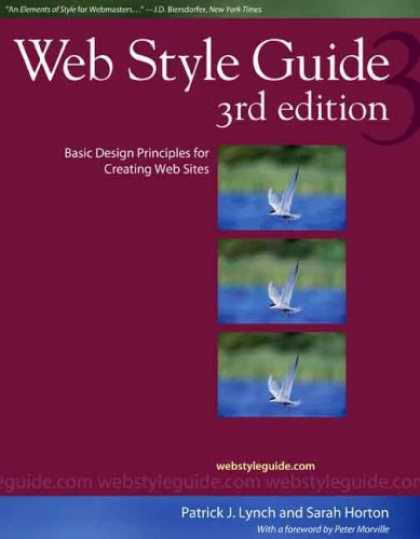 Design Books - Web Style Guide, 3rd edition: Basic Design Principles for Creating Web Sites (We