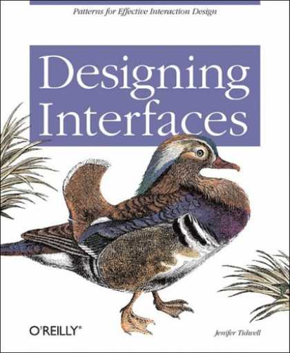 Design Books - Designing Interfaces: Patterns for Effective Interaction Design