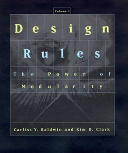 Design Books - Design Rules, Vol. 1: The Power of Modularity