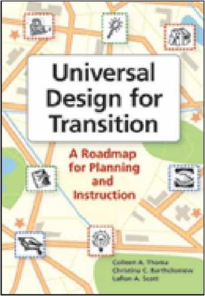 Design Books - Universal Design for Transition: A Roadmap for Planning and Instruction