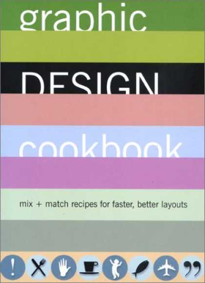 Design Books - Graphic Design Cookbook: Mix & Match Recipes for Faster, Better Layouts