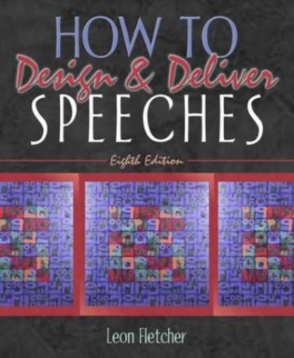 Design Books - How to Design & Deliver Speeches (8th Edition)