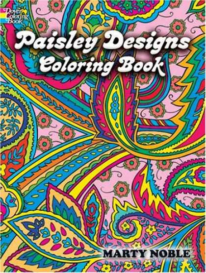 Design Books - Paisley Designs Coloring Book (Dover Coloring Book)