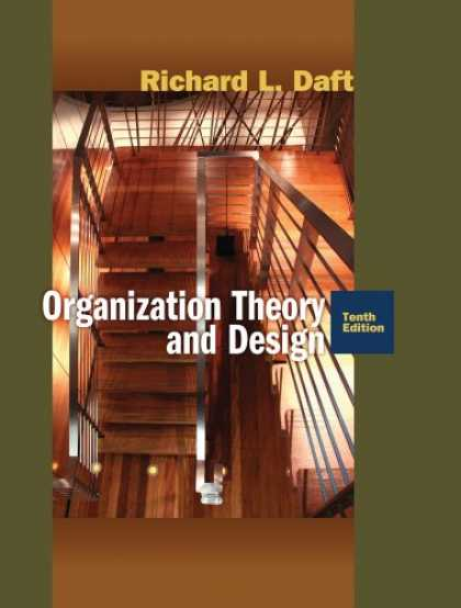 Design Books - Organization Theory and Design