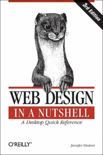 Design Books - Web Design in a Nutshell: A Desktop Quick Reference (In a Nutshell (O'Reilly))