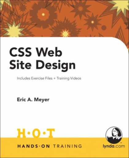 Design Books - CSS Web Site Design Hands on Training (Hands-On Training)
