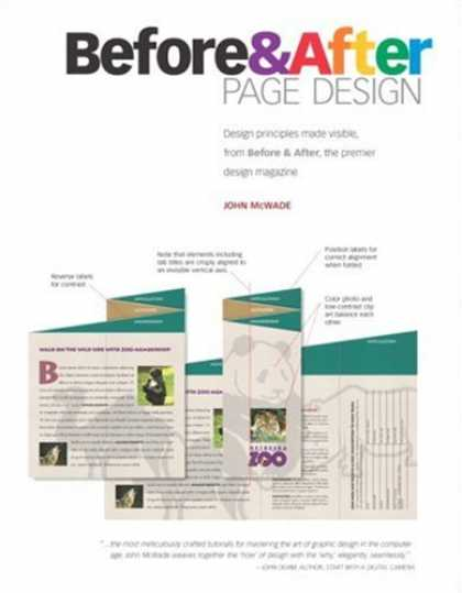 Design Books - Before & After Page Design