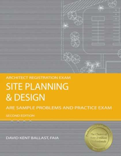 Design Books - Site Planning and Design: ARE Sample Problems and Practice Exam