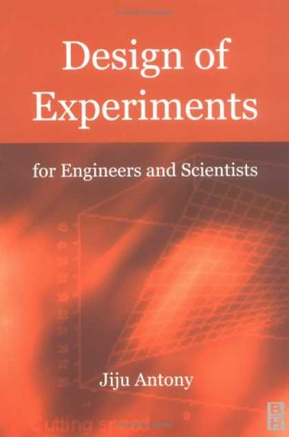 Design Books - Design of Experiments for Engineers and Scientists